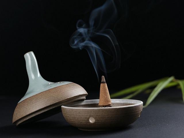 お香 コーンタイプ 焚き方 香立 香皿